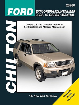 Chilton Ford Explorer & Mercury Mountaineer Repair Manual 2002-10 By Maddox, Robert